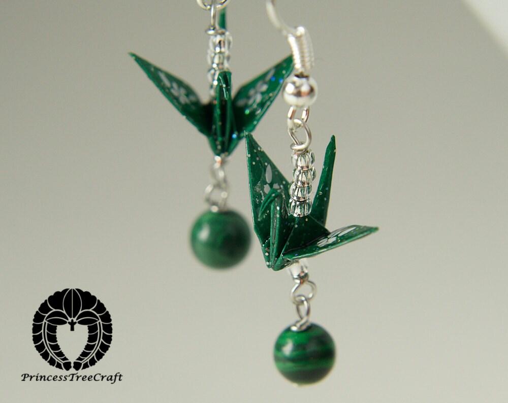 origami bird earrings 28 images origami crane earrings