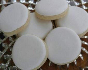 6 Mini Vanilla Sugar Cookies Sample Pack