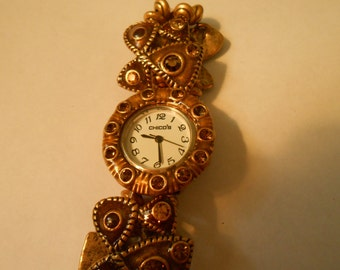 beautiful ladies chico's watch