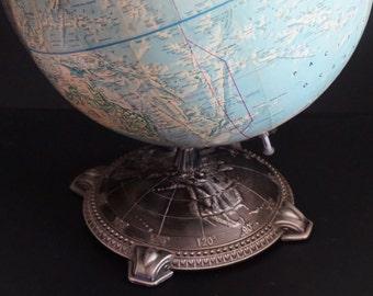 Vintage, Rand McNally World Portrait 12 Inch Globe