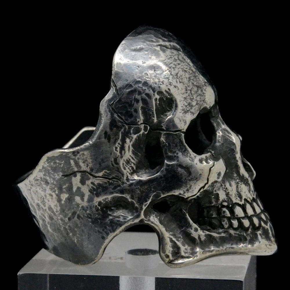 Skull Mens Pinky Ring