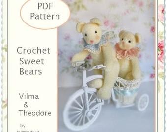 PATTERN, Crochet Bears PATTERNS