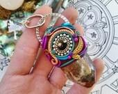 Enchanting Phantom Quartz Necklace