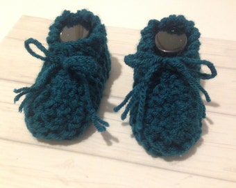 Knitting Patterns For Dolls Booties : Knitted doll booties Etsy