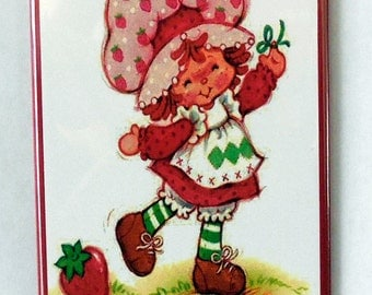 "Strawberry Shortcake 2"" x 3"" Fridge MAGNET art Vintage"