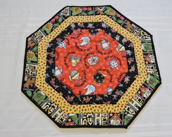 Bright Teapots Octagon Table Runner (M 57)