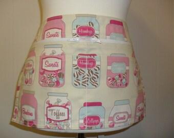 Cream Candy / Sweets - Vendor Apron / Market Trader Money Pocket