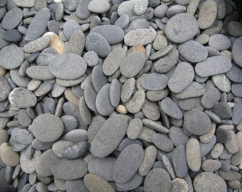 1 to 1 1 2 smooth flat beach rocks wedding by for Where to buy flat rocks for crafts