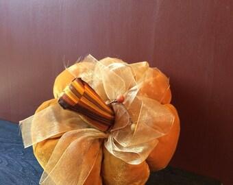 Handmade pumpkin