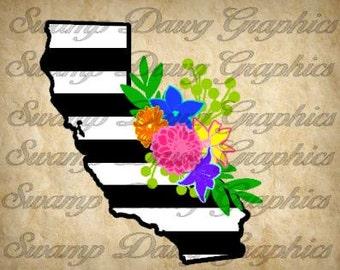 California Decal Etsy