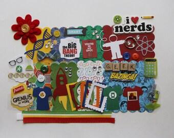 Big Bang Theory Custom Mini Book Album DIY Kit Scrapbook