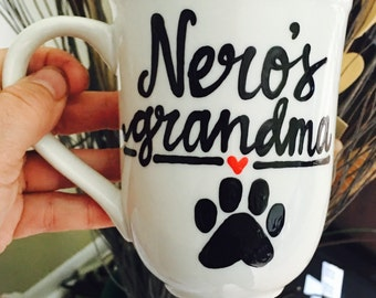 Dog grandma - best cat mom ever - fur babies- best fur baby mom ever - pet mommy mothers day- Dog Mom Coffee Mug- Dog Mom Gift- Dog Coffee