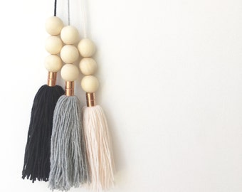 1x Scandi Tassel Hanging // custom colour