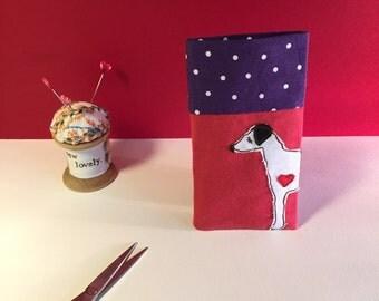 Greyhound Lurcher phone cover, Greyhound Phone Slip, Greyhound Phone case, Greyhound lover gift, Greyhound illustration