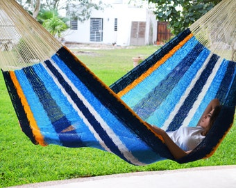 cancun hammock  mayan hammock inspired on the colors of the gorgeous mexican caribbean beaches  mayan hammock   etsy  rh   etsy