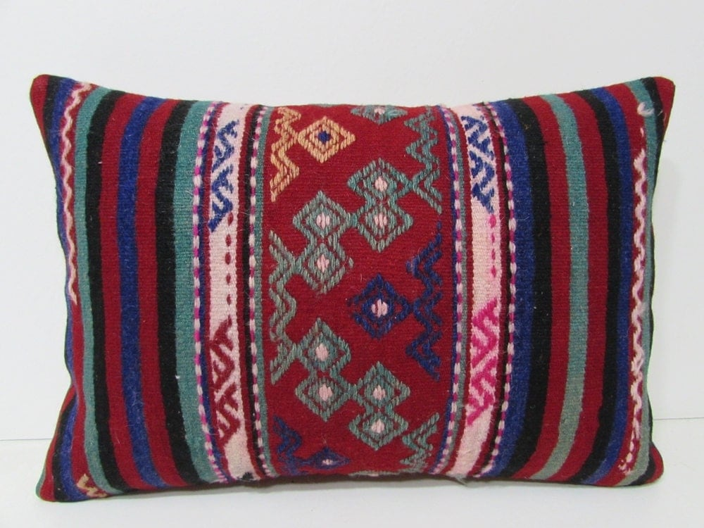 Extra Big Throw Pillows : red throw pillow 16X24 extra large pillow moroccan cushion
