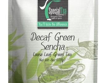8 oz. Decaf Green Sencha with Free Tea Infuser