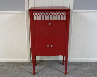 """1928 ALL-AMERICAN """"LORRAINE"""" Radio Cabinet Upcycled*Repurposed*Revamped"""