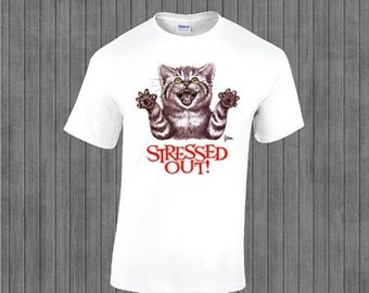 ON SALE 30% OFF Stressed out T-Shirt