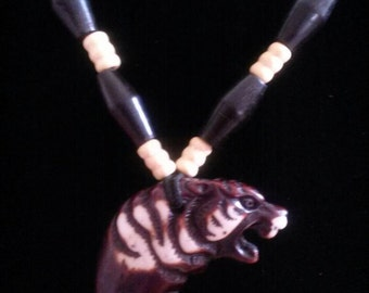 Wolf Power Necklace     OOAK