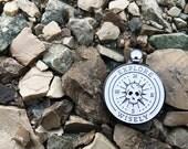 Enamel Pin - Skull Compass