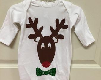 Reindeer with Bow Tie
