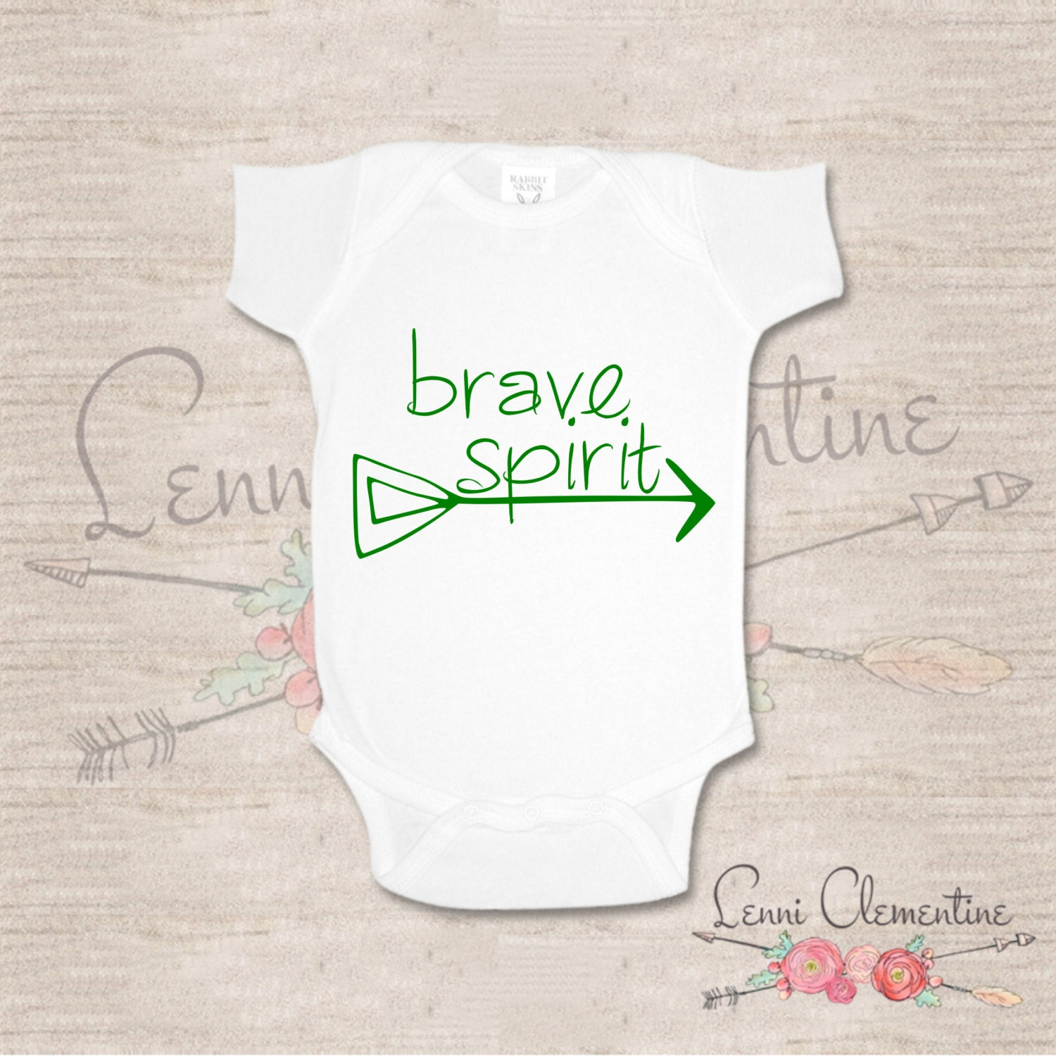Baby Gifts For Hippie Parents : Brave spirit infant bodysuit hippie baby clothes hipster