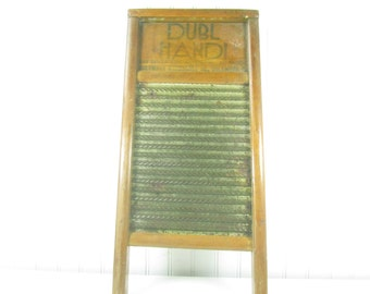 Etonnant Vintage Washboard, Wood And Metal Washboard, Dubl Handi Washboard,  Farmhouse Decor, Rustic