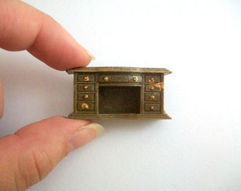 Micro Mini Fireplace, Micro Mini Mantel, Miniature Fireplace, Dollhouse Fireplace, Micro Mini Furniture, Micro Mini Dollhouse, Fireplace