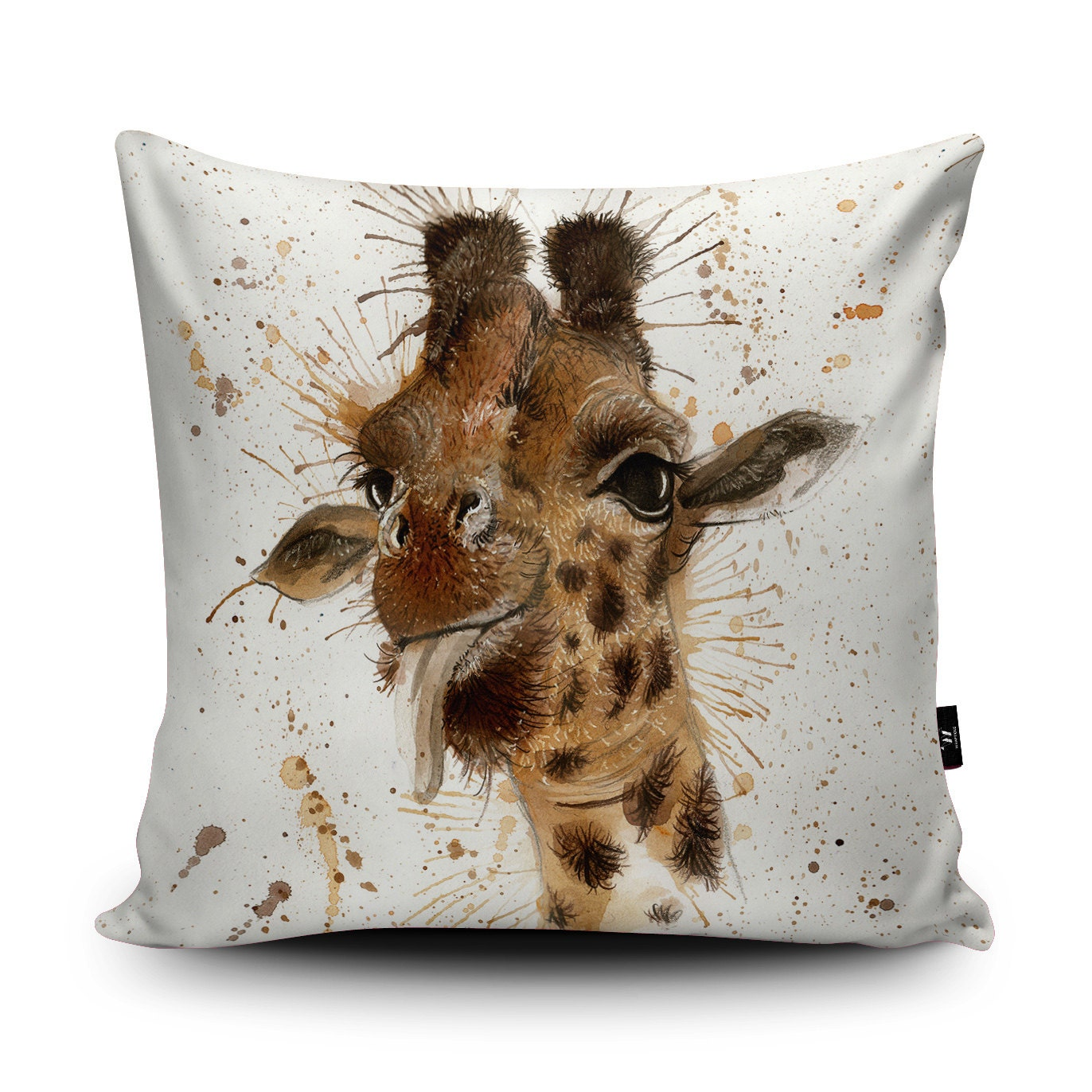 Giraffe Decorative Pillow : Giraffe Cushion Giraffe Pillow Giraffe Cushion Cover
