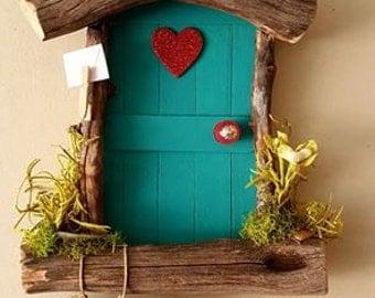 Valentines Day Love Heart Sedona Fairy Door Magical gift