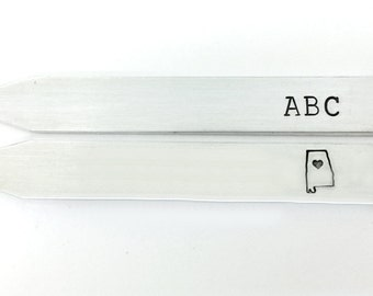 alabama graduation, graduation gift for him, personalized gifts for men, custom collar stays, gifts for him
