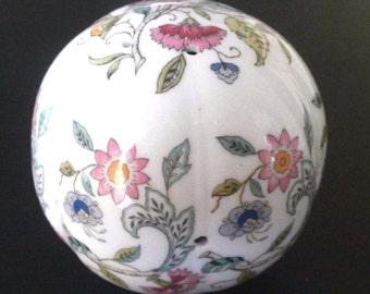 Minton Haddon Hall Potpourri Ball English Bone China (D)