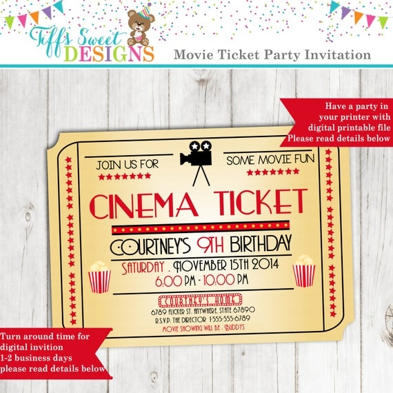 Movie Night Invitation Movie Ticket Invitation Cinema. Funny Wanted Posters. Free Lpn Resume Sample. Unique Delivery Invoice Template. Lost Pet Flyer. Nurse Graduation Party Favors. Hunter College Graduate Application. Free Daily Schedule Template. Cub Scout Flyer Template