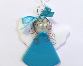 Christmas Angel - Fused Glass