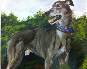 CUSTOM Pet Portrait of a Dog