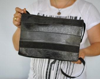 Vintage DEY leather bag , messenger bag .....(302)