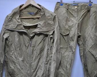 Vintage KRIZIA POI DESIGNER  summer suit ....