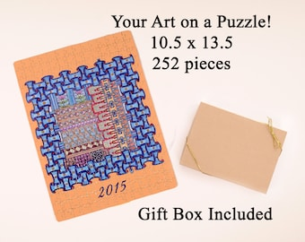 Artwork Puzzle - Your Artwork on a Puzzle - 252 pieces