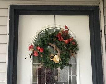 Over the door wreath hanger.