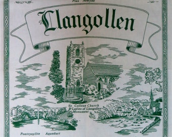 Llangollen Tea Towel - FREE POSTAGE