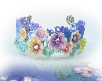 Claude Monet - Water Lily Bangle