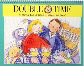 Double Time Twin Schedule Book - 3 Month Supply