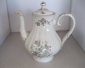"Franconia-Krautheim Pattern ""Millefleur"" Coffee Pot & Lid-7""/5 Cups***Gently Used"