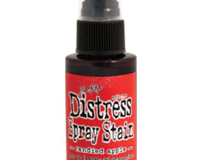 Tim Holtz Distress Spray Stain - Candied Apple - December 2015