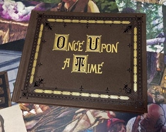 Once Upon A Time Book Replica With Mini Posters Season 1 - 3
