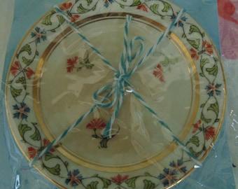 Vintage Butter Pat Dish Miniature Plate