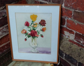Original Still Life Water Colour Signed