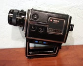 GAF 805M Super 8 Movie Camera 1970s