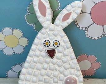 Fun Lily Mosaics D.I.Y. Mosaic Bunny Kit for adults and children
